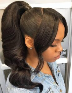 Four ponytail hairstyle for every occasion