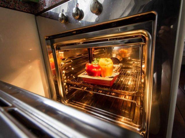 Repairing microwave oven